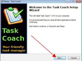 Task Coach installieren