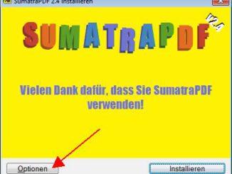 Sumatra PDF installieren