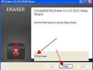 Eraser installieren und sicher vertrauliche Daten löschen