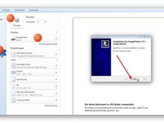 Virtual ImagePrinter Free installieren