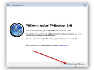 TV Browser installlieren