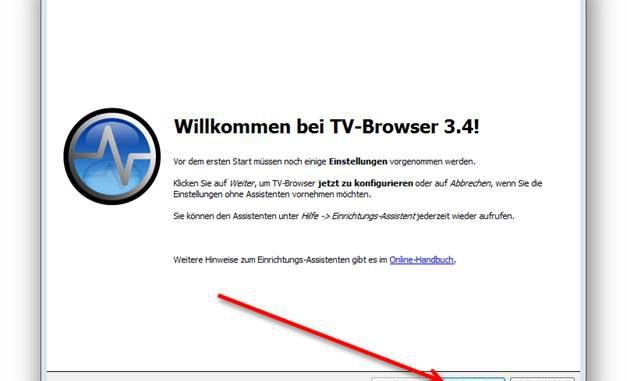 TV Browser installlieren